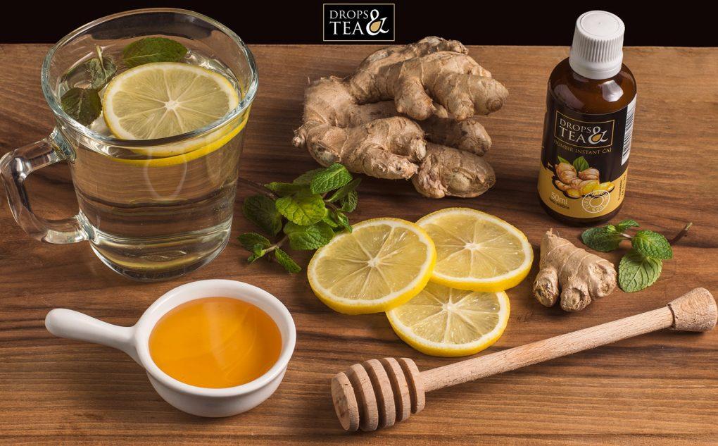 Primena Drops&Tea đumbir instant čaja